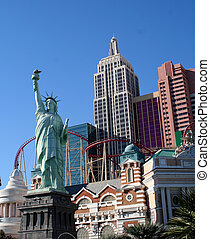 Las Vegas - a view of New York NEw York in Las Vegas
