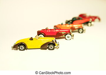 Old Cars - Old toy cars