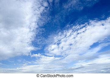 clouds - sky background(special photo f/x,focus point on the...