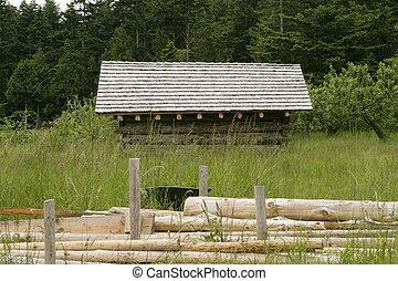 Remote Beach Cabin