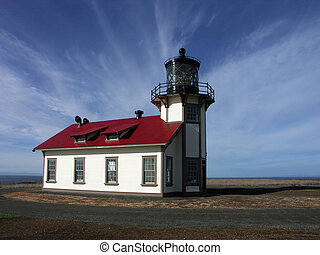 Lighthouse - Cabrillo Lighthouse, Mendocino, California