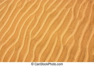 Sand background - Background of a beautiful pattern on a...
