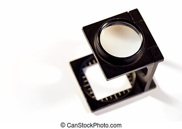 Printers loupe - Shallow depth of field image of a Printers...