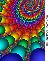 Endless Beads - Endless Rows of Beads in vivid colors