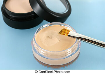 Foundation Face Powder - Professional quality make up and...