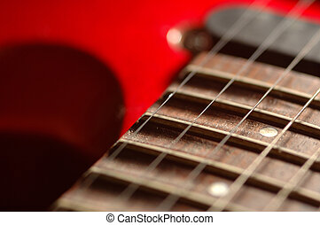 Electric Guitar - a macro of my electric guitar