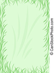 grass border - green grass border, great for background and...