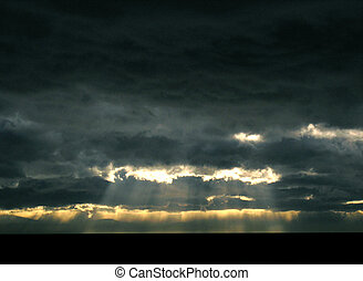 light at the end - even in the darkest times there is some...