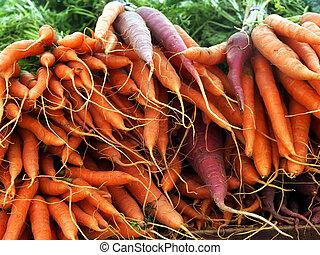 Zanahorias, ramos