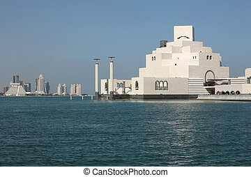 Islamic Art Museum, Doha - The Islamic Art Museum in Doha...