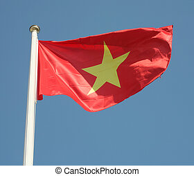 Vietnamese flag - The national flag of Vietnam