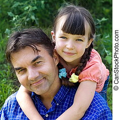 lovly family - girl with uncle