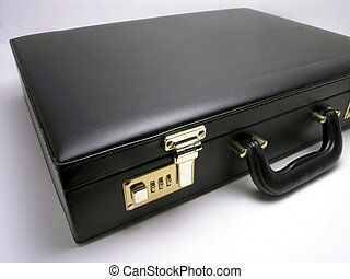 leather briefcase - 2