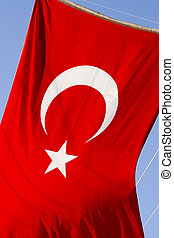 turkish flag - red turkish flag, turkey