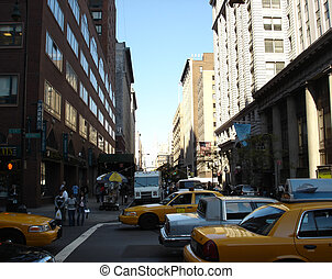 Bustling Streets - Bustlng streets of New York
