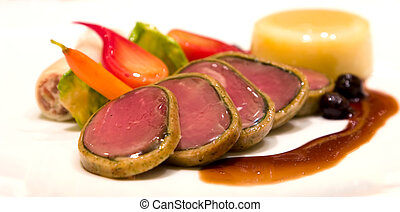 Oven Roasted Elk Tenderloin - Oven roasted elk tenderloin...