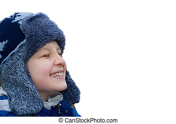 winter boy - happy boy