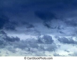 Storm weather - Very bad weather condition with lot of storm