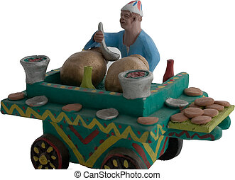 Ful Cart - Egyptian Fava Beans Cart