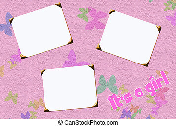baby girl frames - baby girl blank picture frames for...
