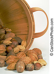Mixed Nuts in a Bucket