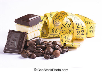 chocalte - bar; bite; block; brown; candy; chocolate;...