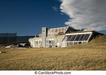 Energy efficient home - Energy efficient solar heated home...