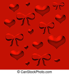 valentine wrapper - red valentine wrapping paper