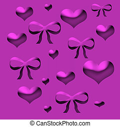 valentine wrapper - valentine  lavender wrapping paper