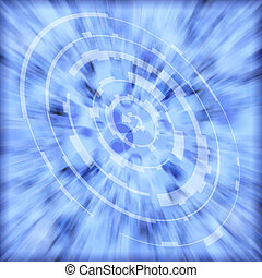 technical speed blue - a abstract background with a...
