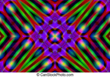Stock Image of Abstract Kaleidoscope