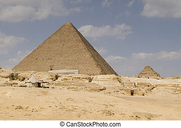 The Great Pyramid of Gizeh in Cairo Egypt.