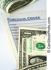Purchase Order - Purchase order with money