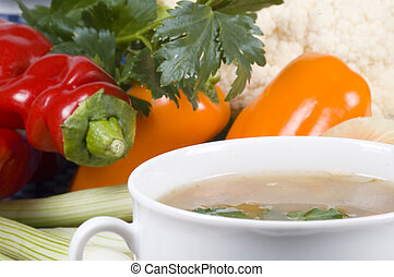 vegetable soup -