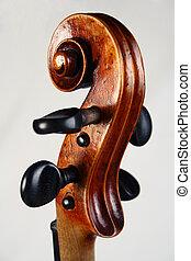 entiers, violon