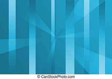 Technical Streaks - Background wtih shades of blue with bars...
