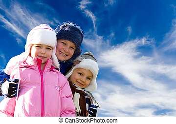 Winter, Kinder