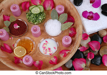 Facial Masks - Facial masks, bath salt, body scrubs, petals,...