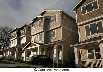 New American Townhouses - Brand new city townhouses in...
