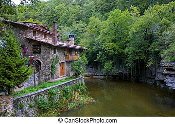 House in Rupit, Catalonia
