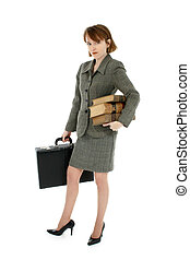 Red Headed Business Woman