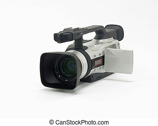 Video Camera - This is a picture of a modern video camera...