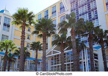Holiday resort - Shot of an upmarket internationally...