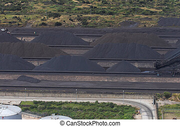 Ore Dumps - Manganese, Coal or any other mined mineral dumps