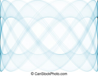 Abstract blue design - A computer generated abstract image;...