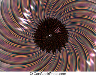 Vortex, background - Colorful 3D illustration, background of...
