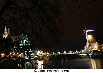 goerlitzstars - This picture shows the altstadt-bridge in...