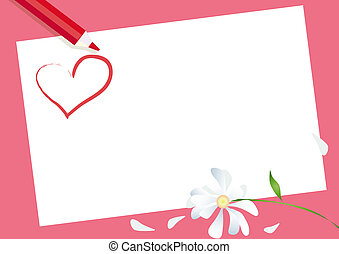 Valentine Card - Card for Valentine Day