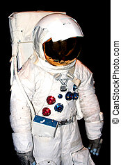Space Suit - NASA space suit against a black background