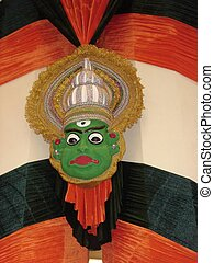 Kathakali Dance Mask from India